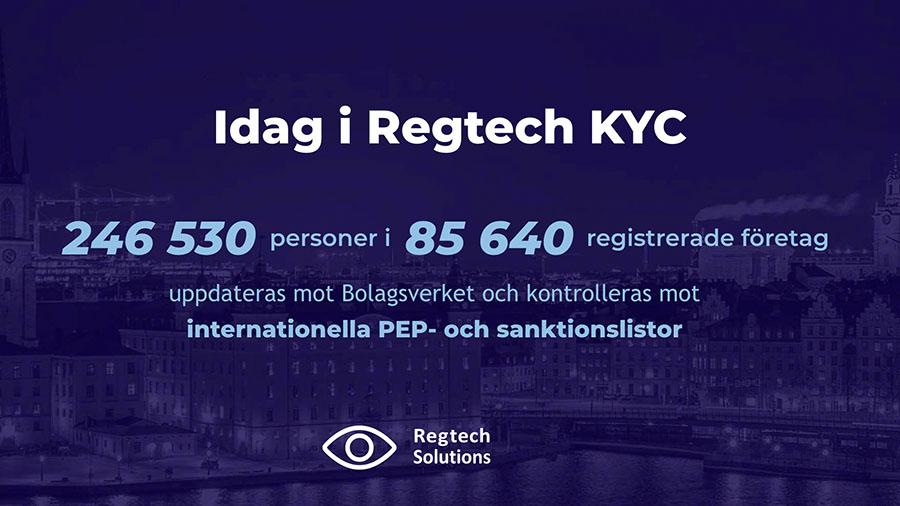Regtech KYC